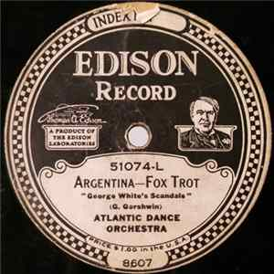 Mp3 Atlantic Dance Orchestra / Ernest L. Stevens' Trio - Argentina / To.Morrow