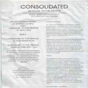 Mp3 Consolidated - Message To The People