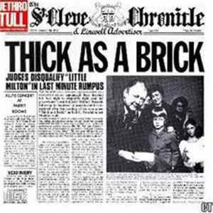 Mp3 Jethro Tull - Thick As A Brick