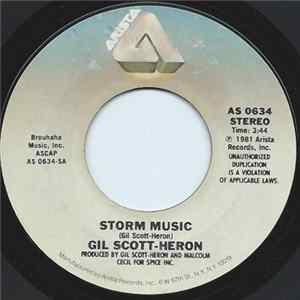 Mp3 Gil Scott-Heron - Storm Music