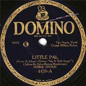 Mp3 George Epstein - Little Pal / My Song Of The Nile