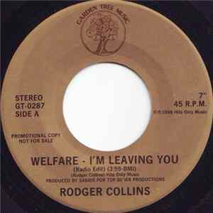 Mp3 Rodger Collins - Welfare - I'm Leaving You