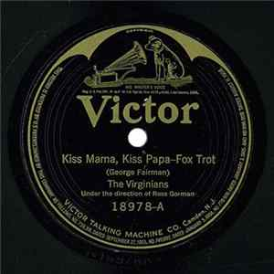 Mp3 The Virginians - Kiss Mama, Kiss Papa / Choo-Choo Blues